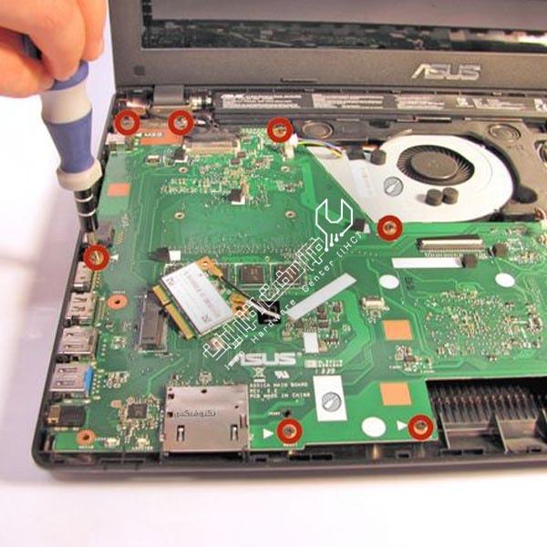 تعمیر فلت لپ تاپ ایسوس