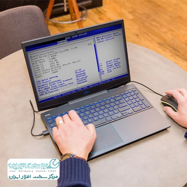 ریست بایوس لپ تاپ