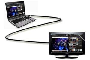 وصل کردن لپ تاپ ایسوس به تلویزیون