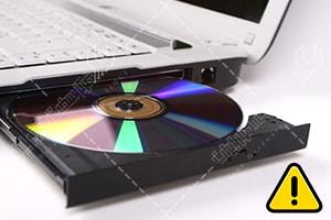 چرا دی وی دی لپ تاپ ایسوس نمی خواند؟