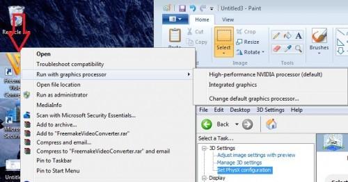 آموزش تنظیمات کارت گرافیک لپ تاپ 3