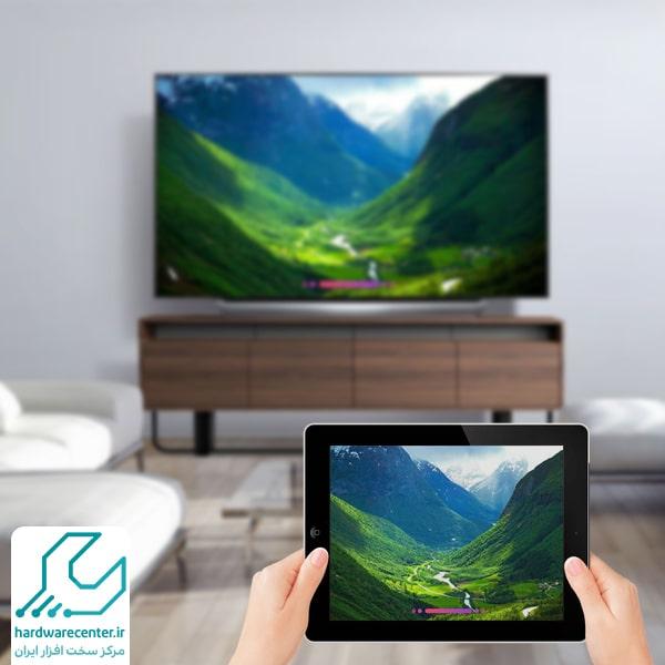 آموزش اتصال تبلت به تلویزیون