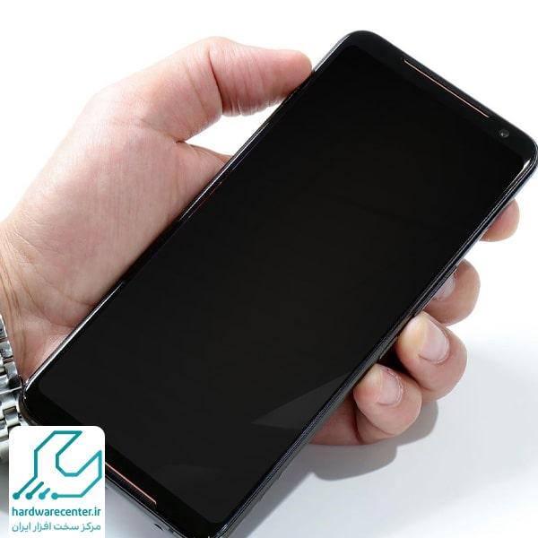سیاه شدن صفحه نمایش گوشی