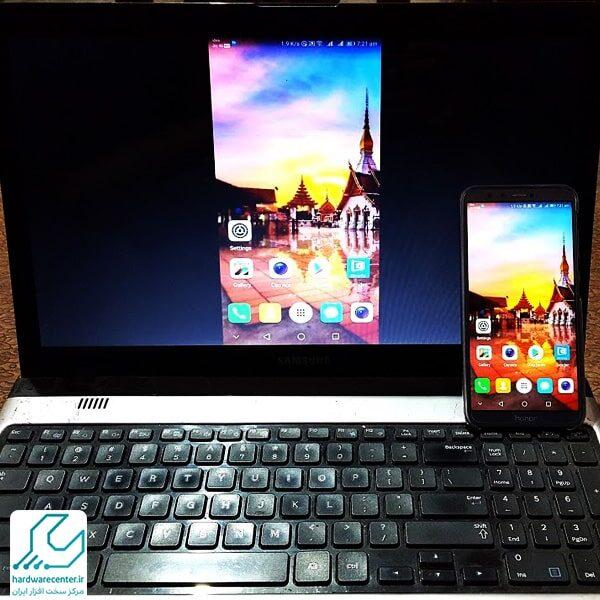 نمایش صفحه گوشی اندروید روی کامپیوتر و لپ تاپ