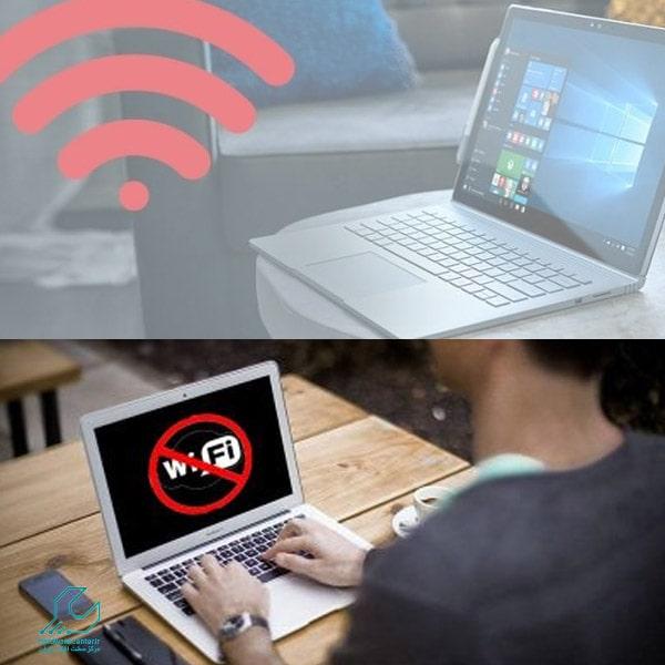 مشکل وصل نشدن لپ تاپ به اینترنت گوشی
