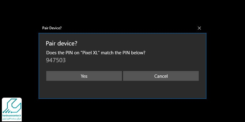 انتقال بیسیم فایل از ویندوز به اندروید